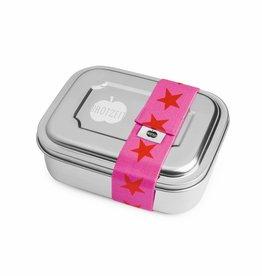 Brotzeit Brotzeit ZWEIER Lunchbox Sterne rot pink bei Pilzessin