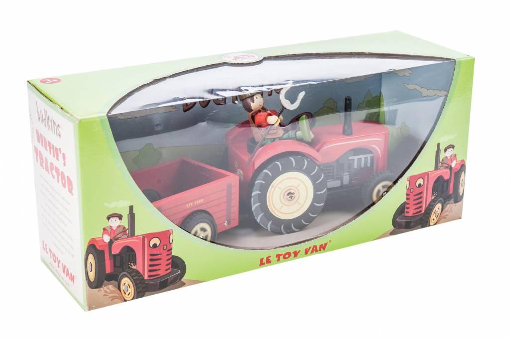 NEU Holzspielzeug Berties Traktor aus Holz von Le Toy Van