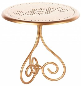 Maileg Coffee table, Gold vintage
