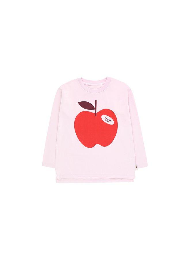 pale pink/burgundy