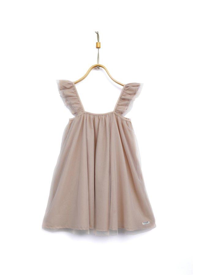 Donsje Sil Dress Soft Rose
