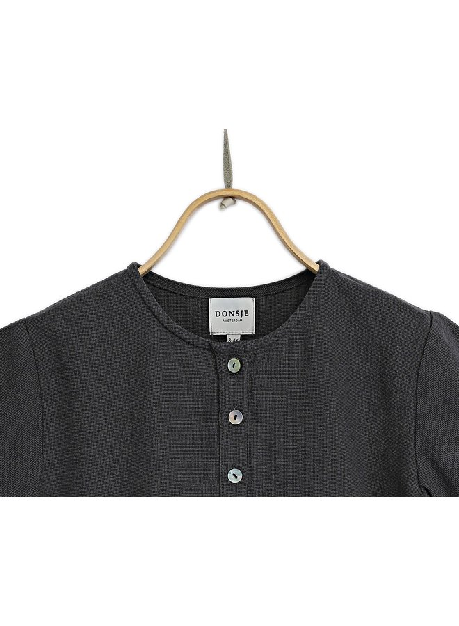 Donsje Curt Shirt Midnight Navy