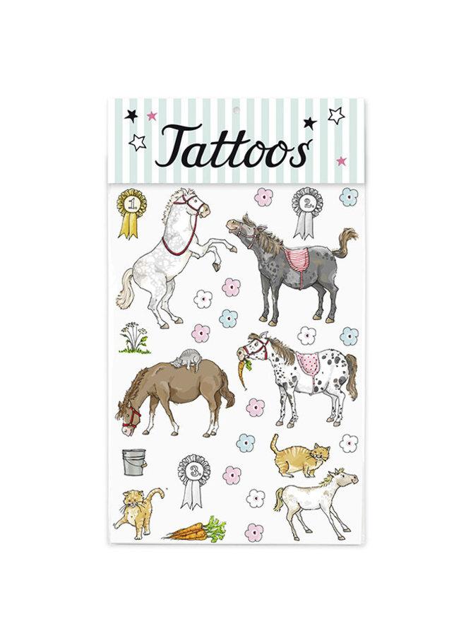 Krima & Isa Tattoos Pony
