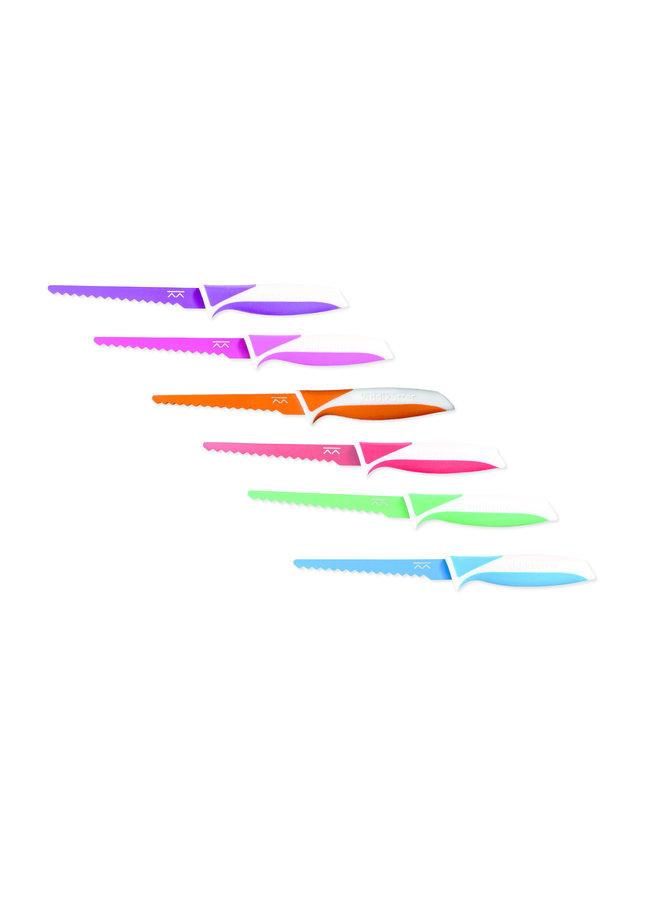 Kindermesser von KiddKutter violett