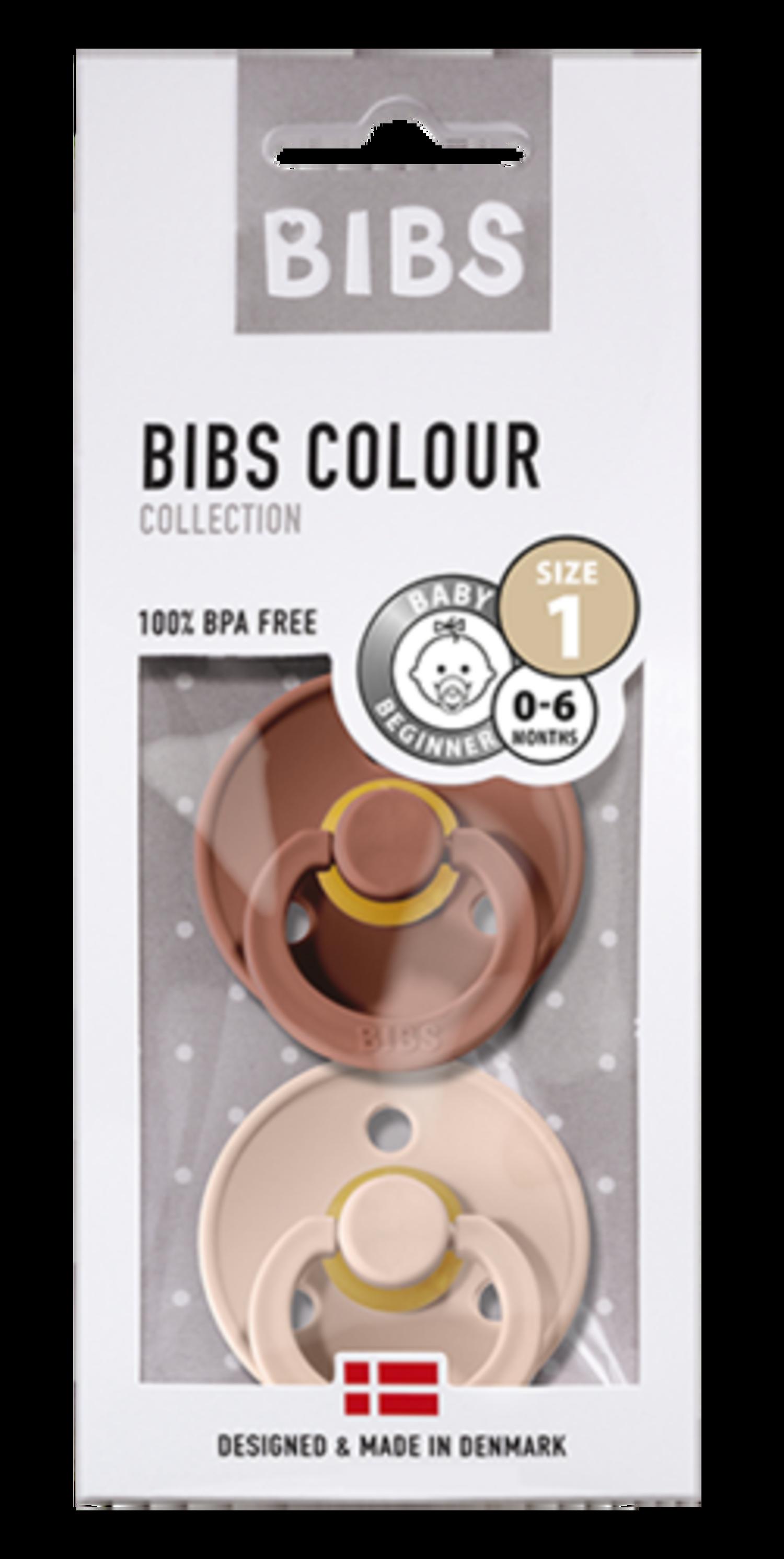 Bibs Naturkautschuk Schnullern BPA Wolke//Blush 0-6 Monate Baby