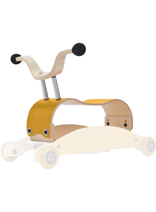 Rutschfahrzeug 3 in 1 von Wishbone in gelb