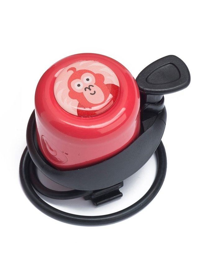 Laufradklingel von Wishbone rot Affe