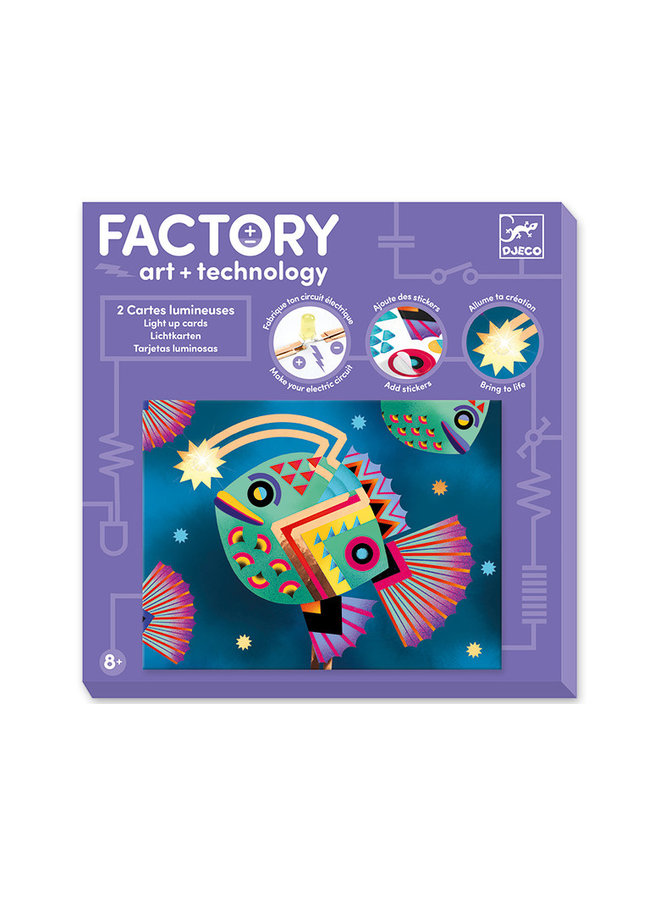 Djeco Factory Tiefsee - E-Paper Bastelset