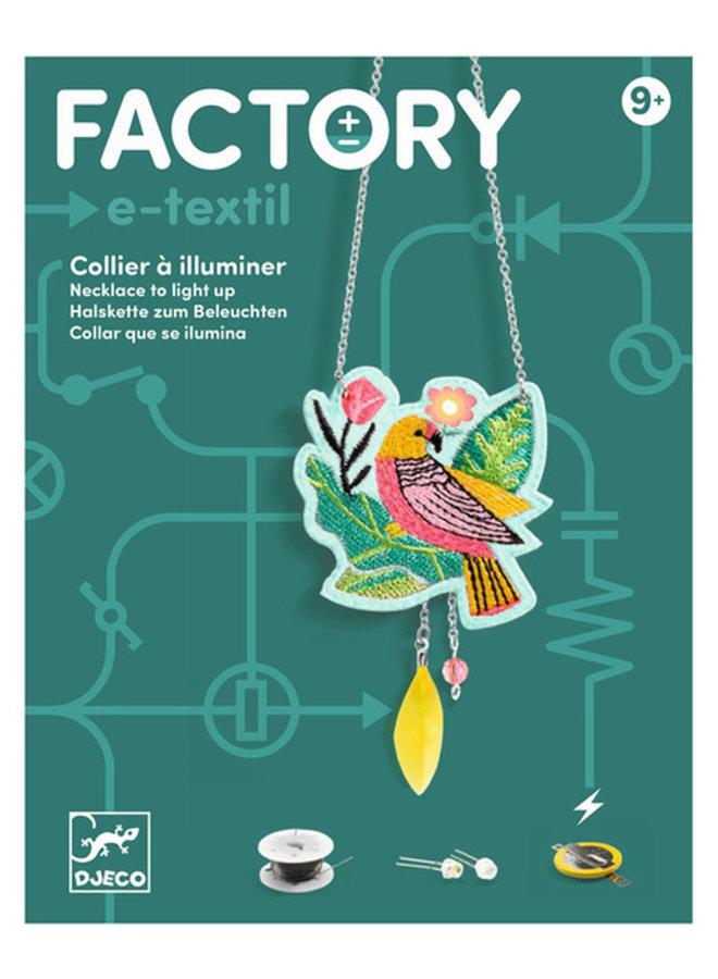 Djeco Halskette Calypso - E-Textil Schmuck zum Beleuchten