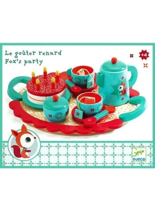 Rollenspiel Fuchs für Teepartys von Djeco