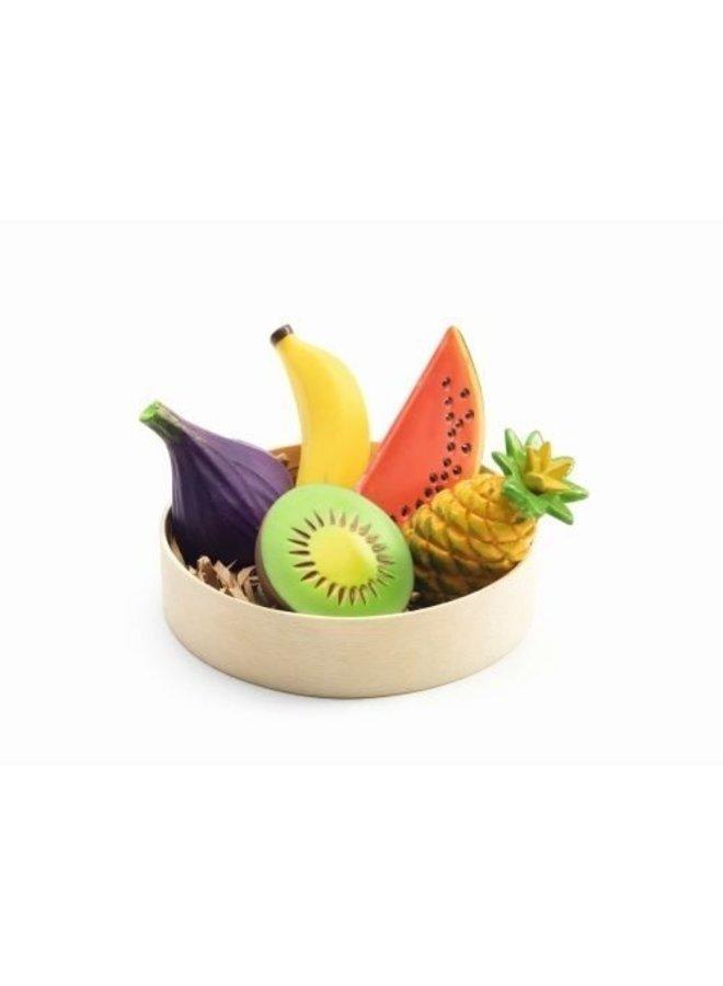 Djeco Obstkörbchen Exotische Früchte