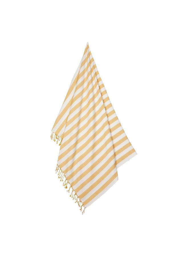 Liewood Mona Beach Towel Yellow Mellow/ Creme de la Creme
