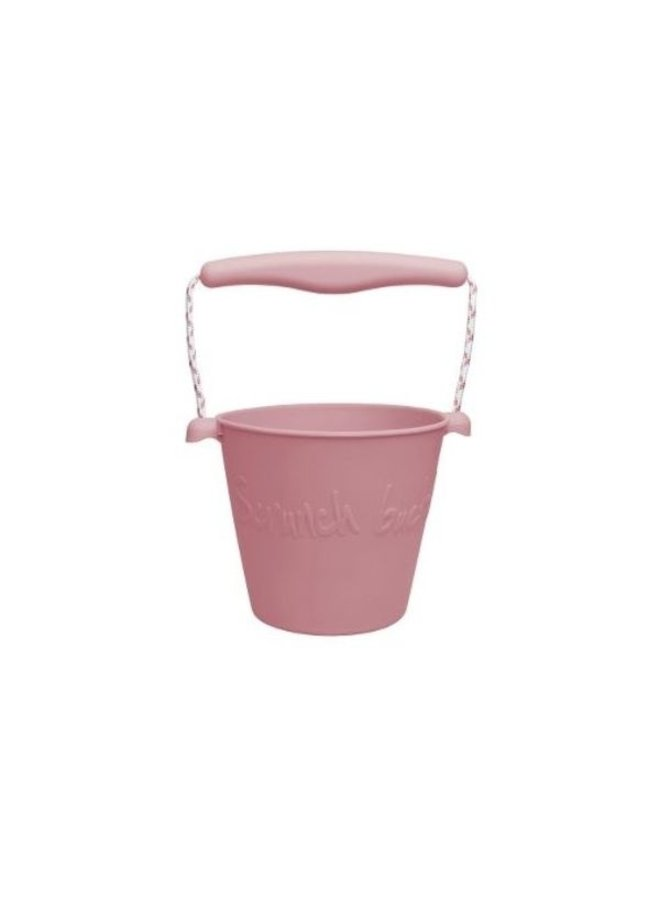 Scrunch-bucket, SC, Dusty Rose