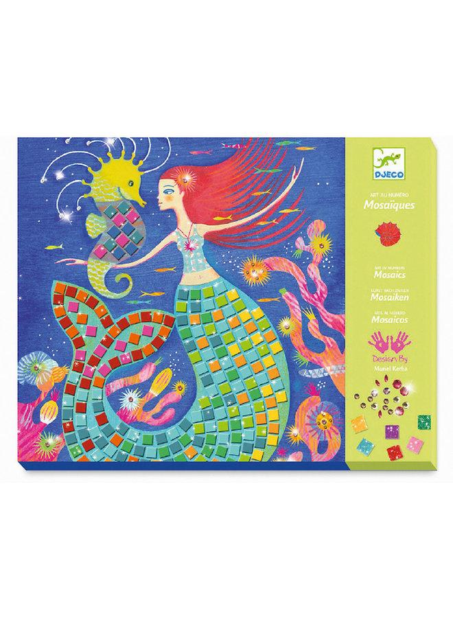 Glitzermosaik Der Gesang der Meerjungfrauen von Djeco