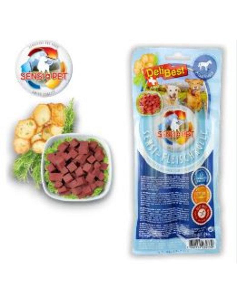 DeliBest DeliBest Sensi Fleischrolle aus Pferdefleisch