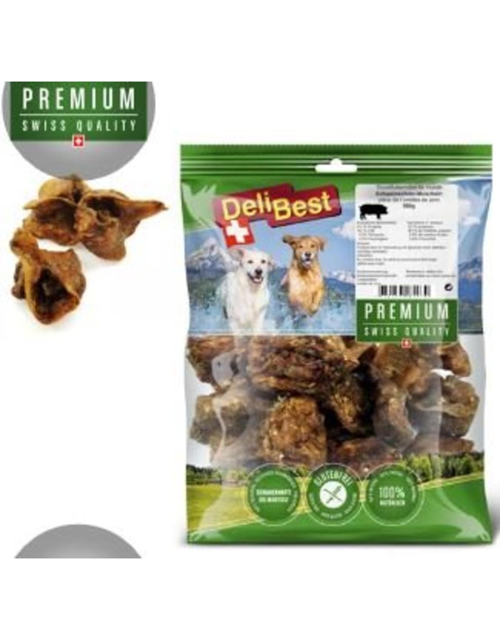 DeliBest Premium Schweineohren Muscheln