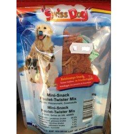 Swiss Dog Swiss Dog Mini Snack Pouet Twister Mix