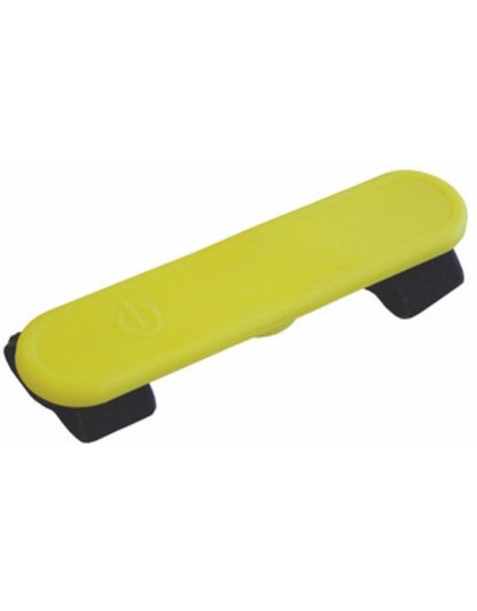 Colly LED-Silikon Klettsticker velcro, gelb
