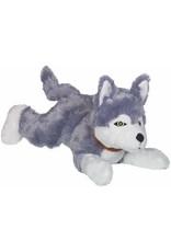 Colly Soft-Plüsch-Hund liegend, HUSKY, 35 cm