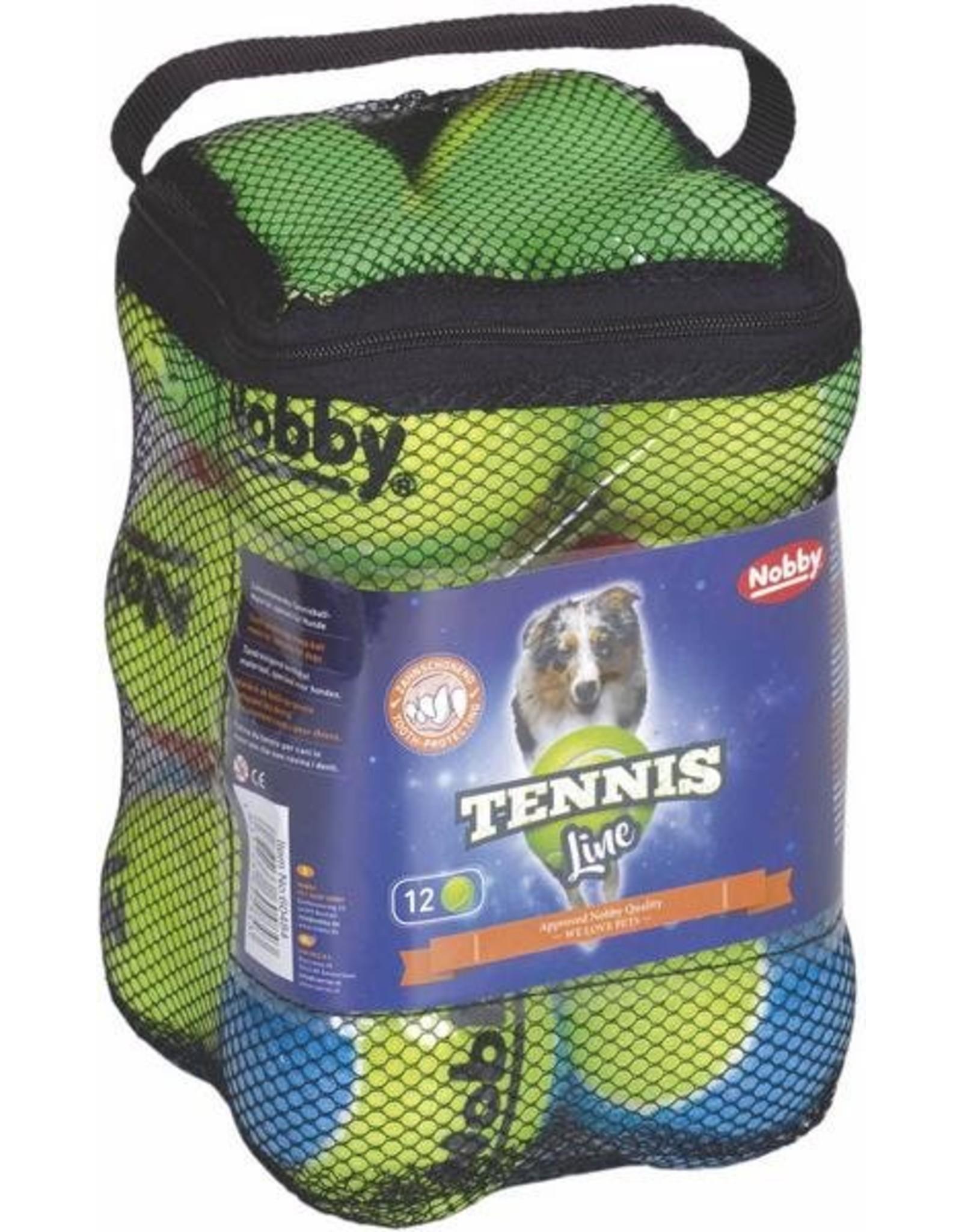 Colly  Tennisball12er Netztasche