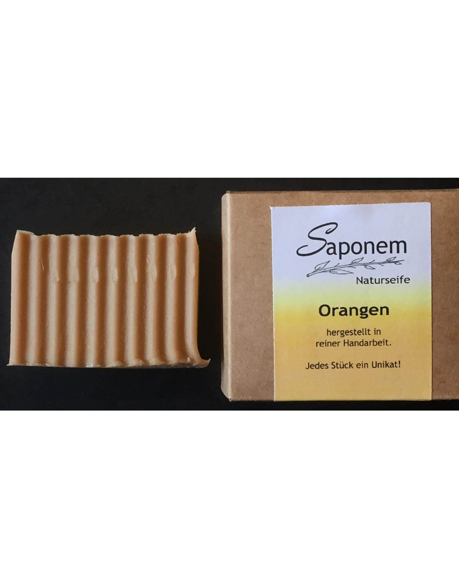 Saponem Orangen Seife   -  Vegan