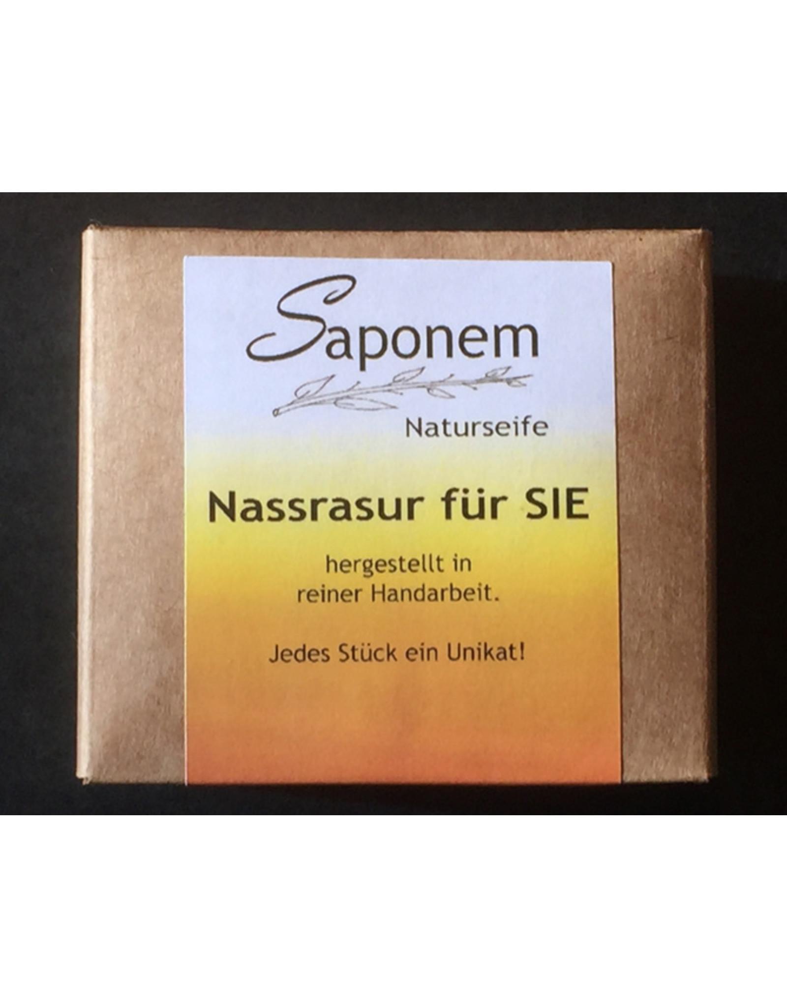 Saponem Nassrasur Seife für Sie   -  Vegan