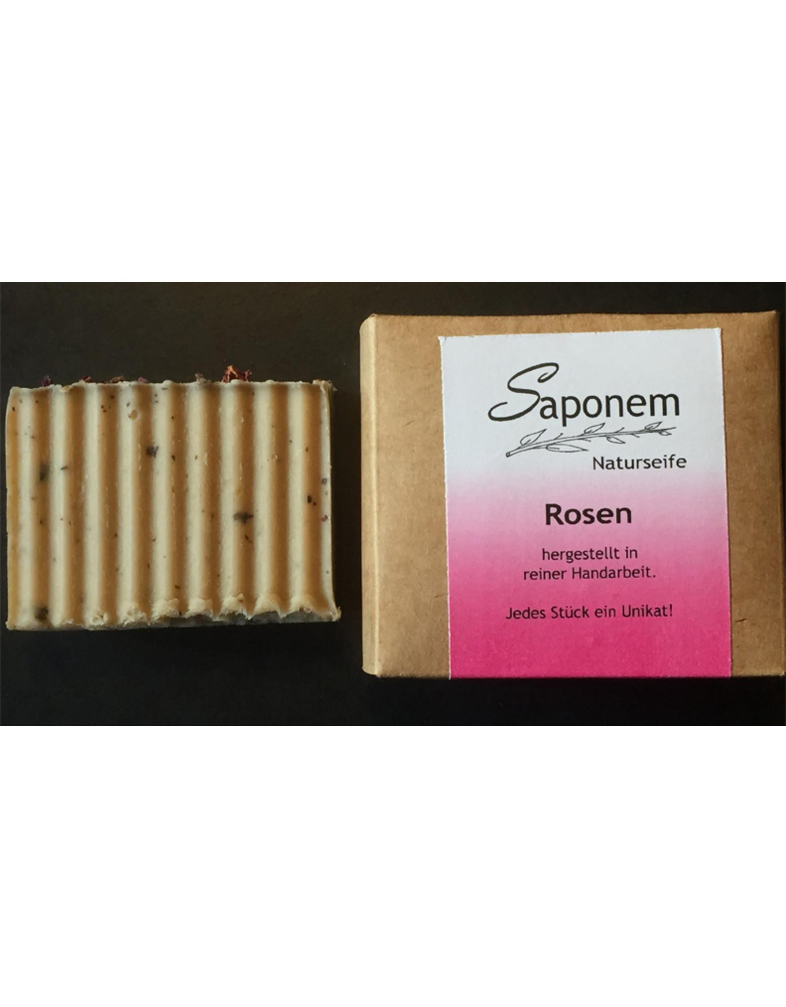 Saponem Rosen Seife   -  Vegan