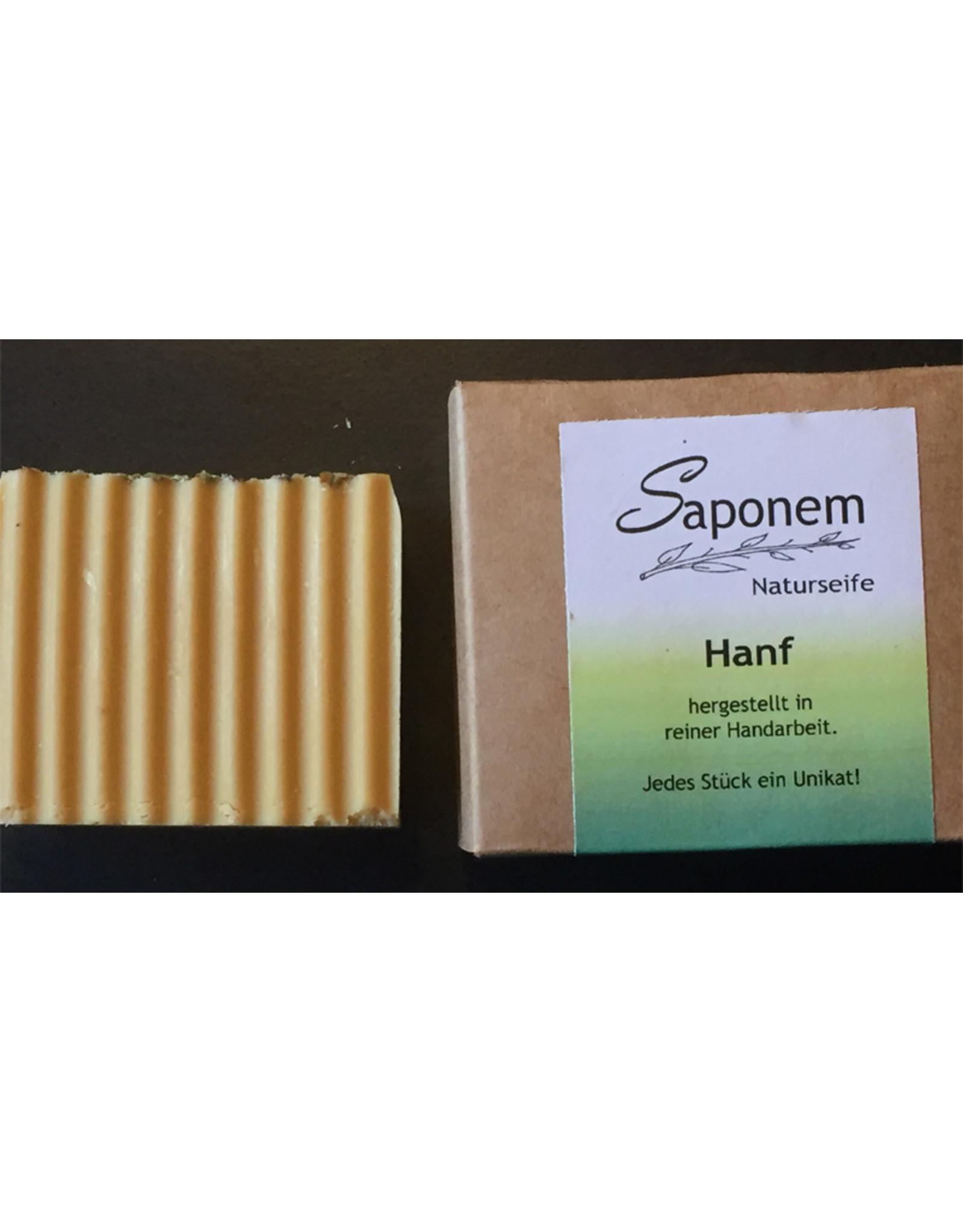 Saponem Hanföl Seife   -  Vegan