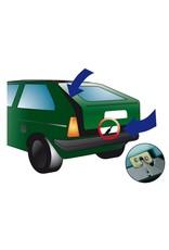 Swiss Dog Heckbelüfter - Hacken für Autoheck