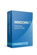 Microsoft Windows 7 Professional 32/64 Bits OEM