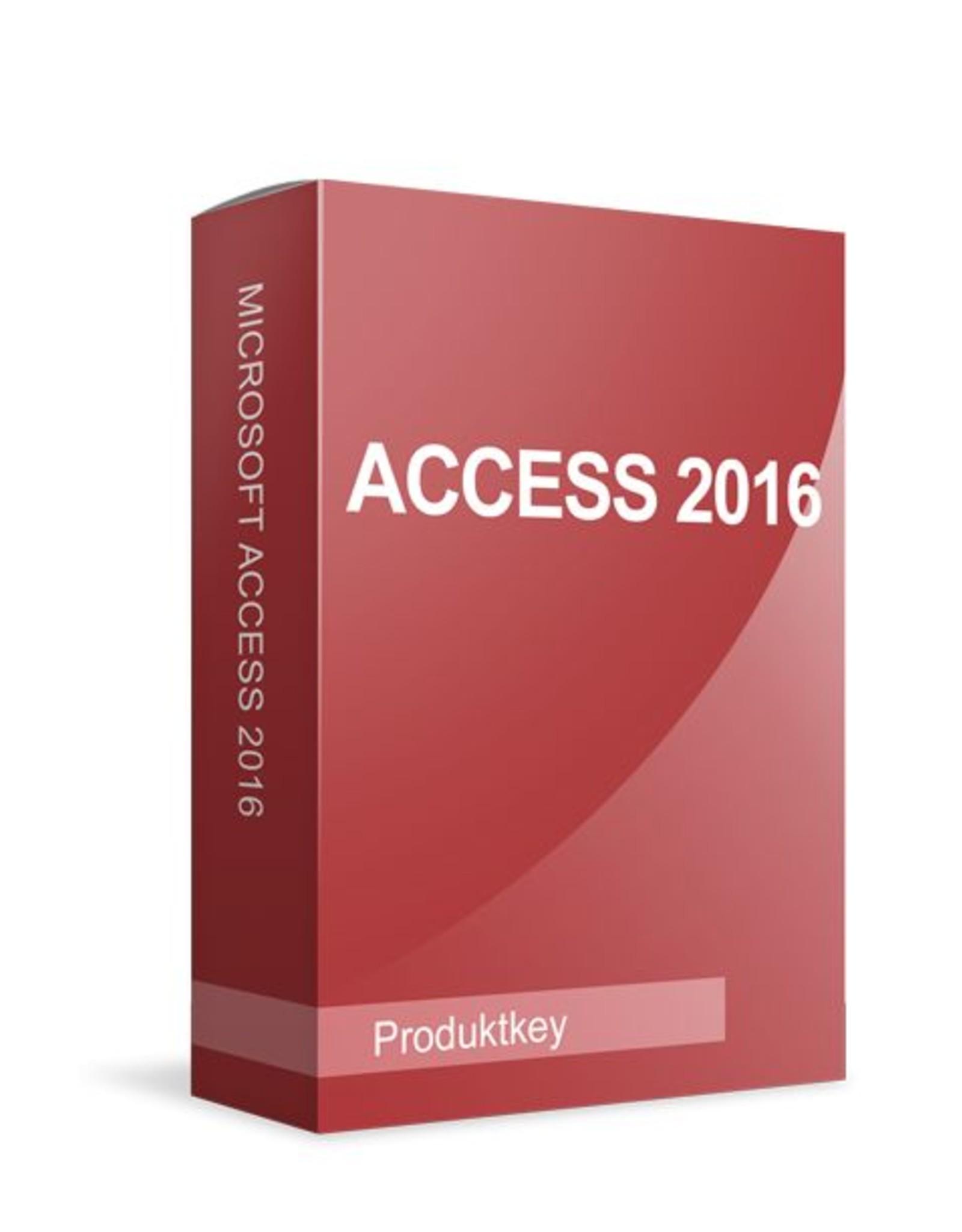 Microsoft Microsoft Access 2016