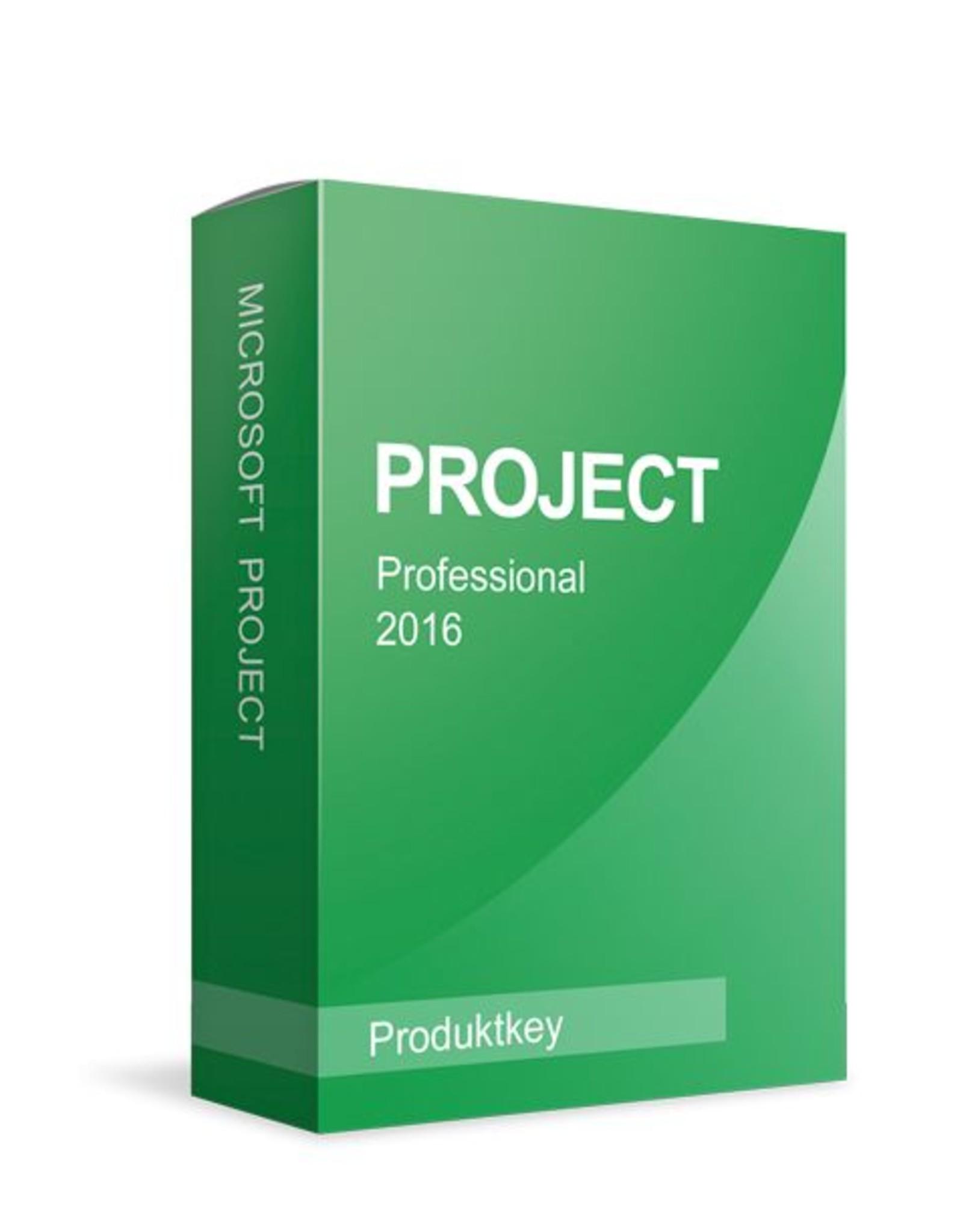 Microsoft Microsoft Project 2016 Professional