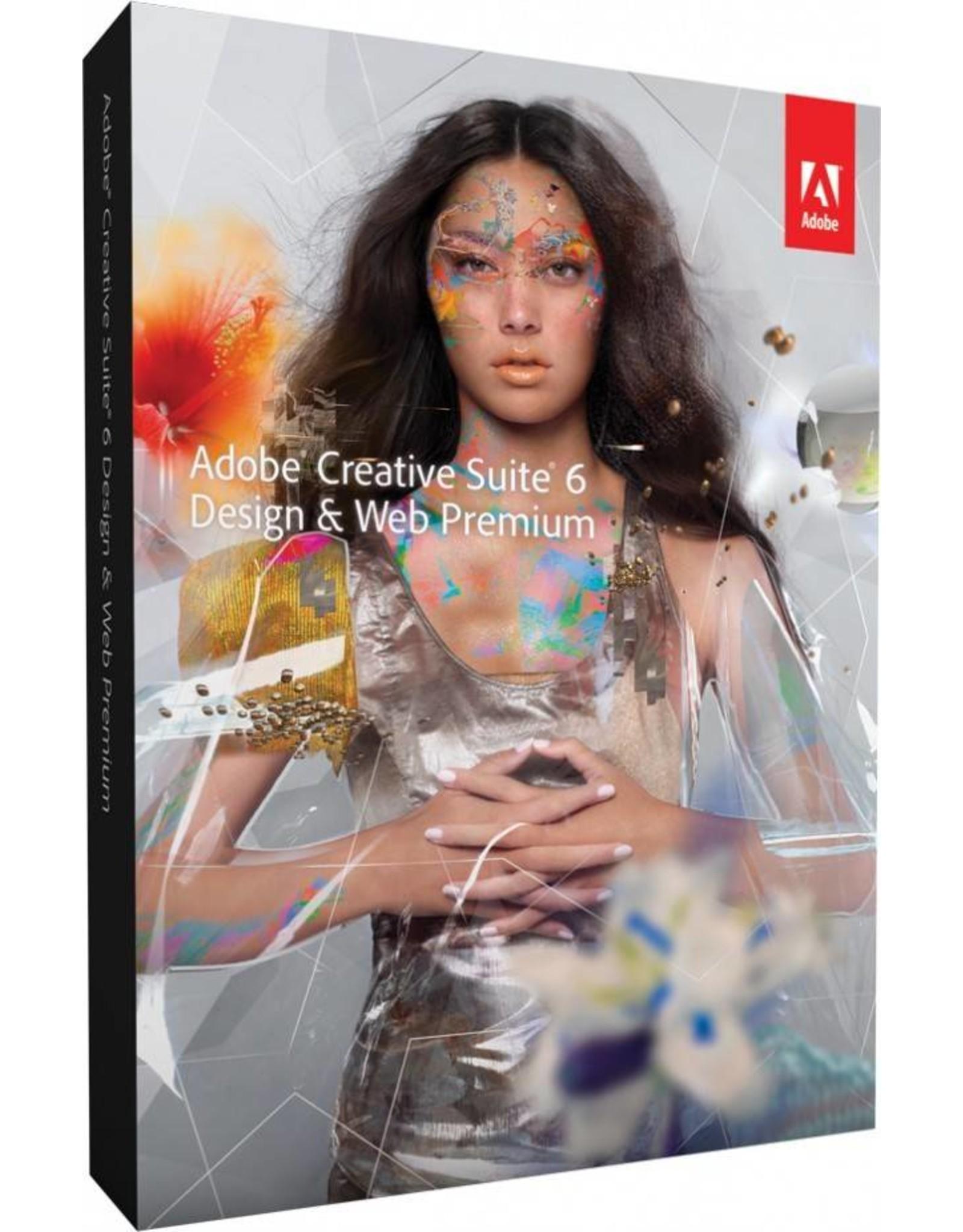 Adobe Adobe Creative Suite 6 Design & Web Premium MAC