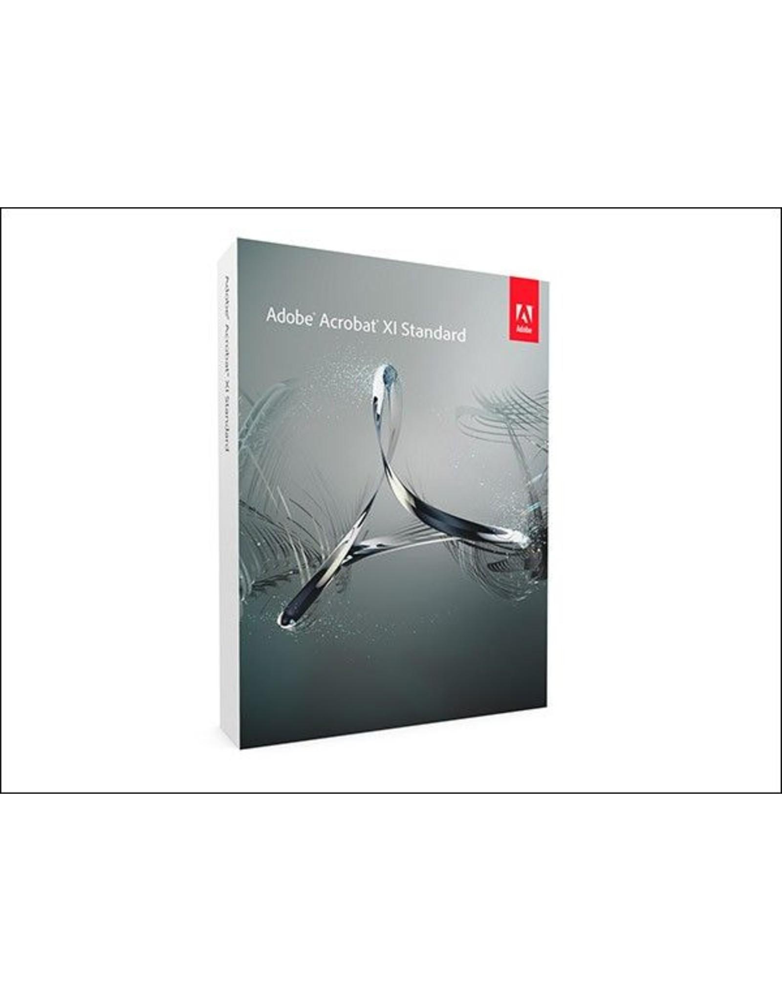 Adobe Adobe Acrobat XI Standard for PC