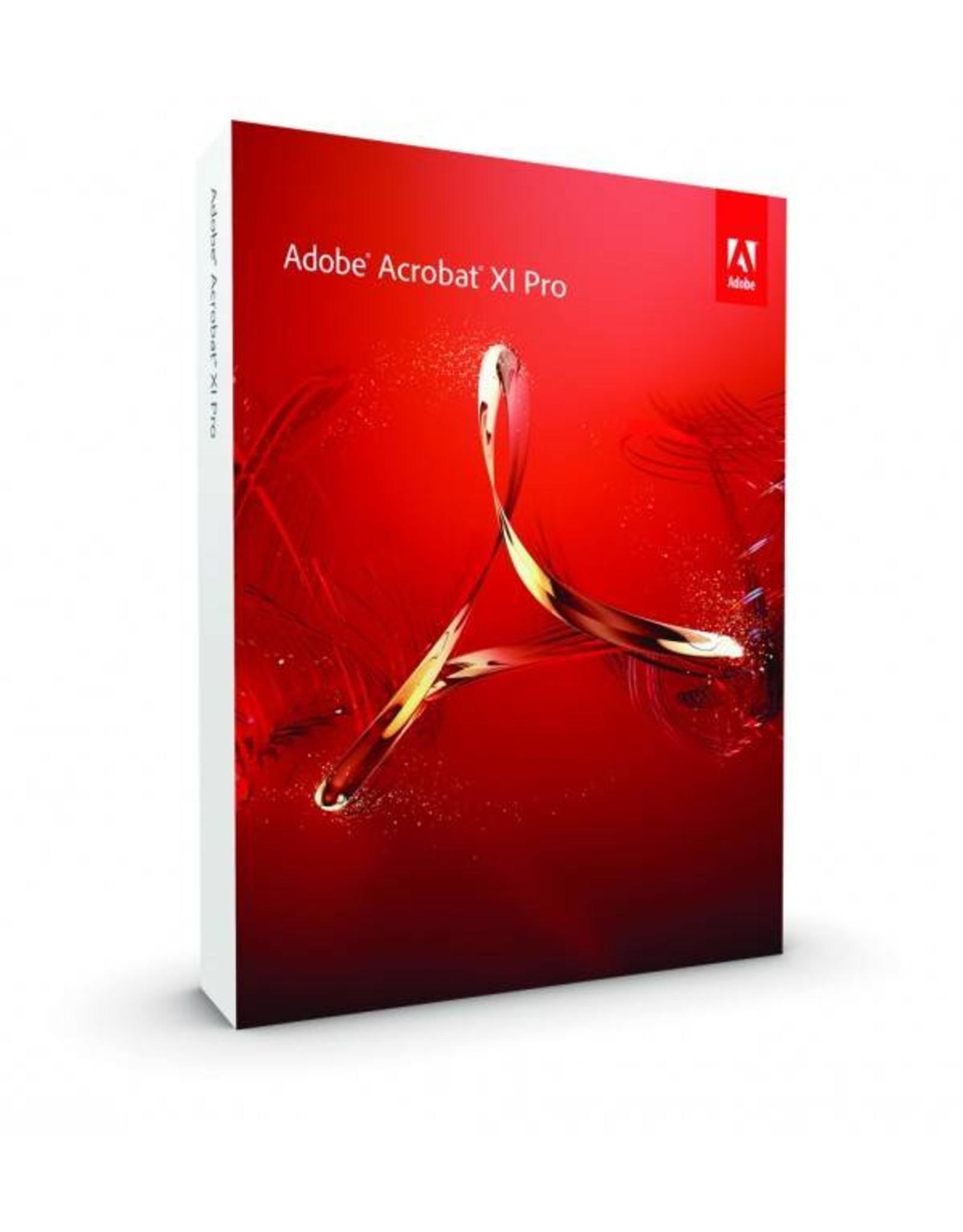 Adobe Adobe Acrobat XI Pro for PC