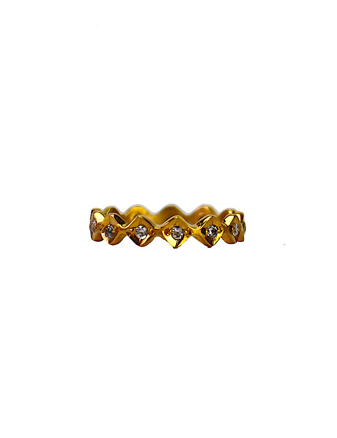 Gold Diamond Fever | gouden ring