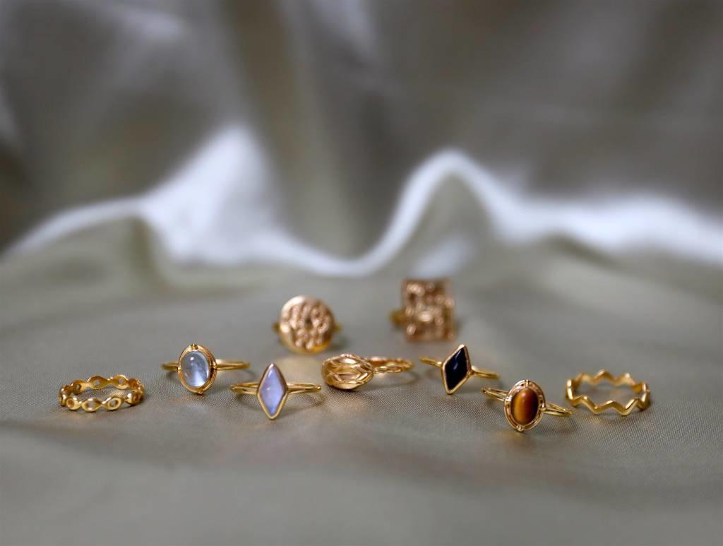Alle Gold plated ringen