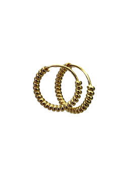 Gold Hoops 10 mm