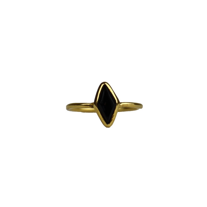 Gold Elegance - Black Onyx