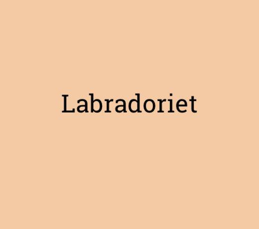 Labradoriet