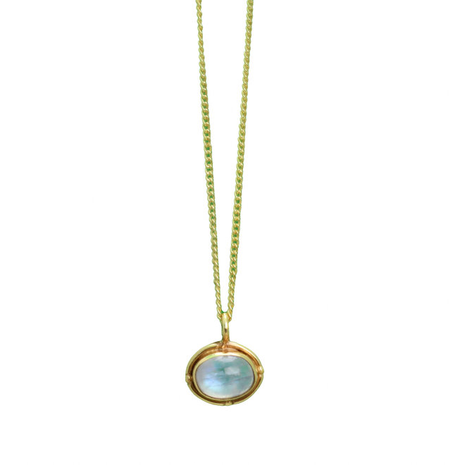 Moonstone Fever necklace gold