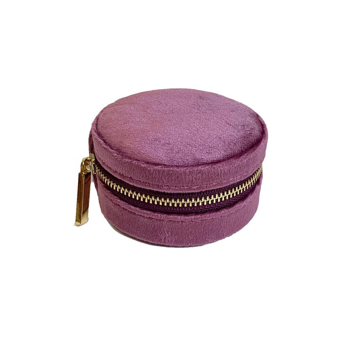 Travel Organizer Jewelry Purple