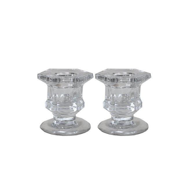 Royal Candle Holder Glass