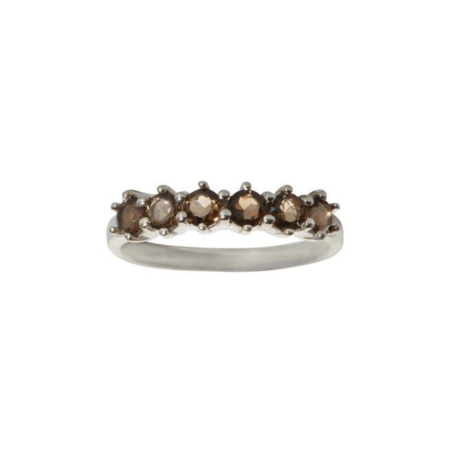 Vintage Smoky ring silver