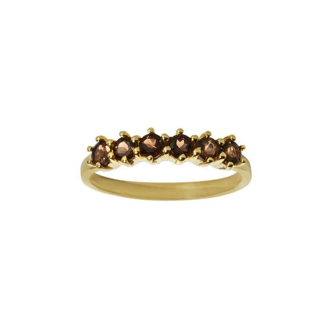 Vintage Smoky ring gold