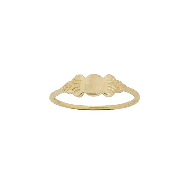 Bohemian Signet ring gold