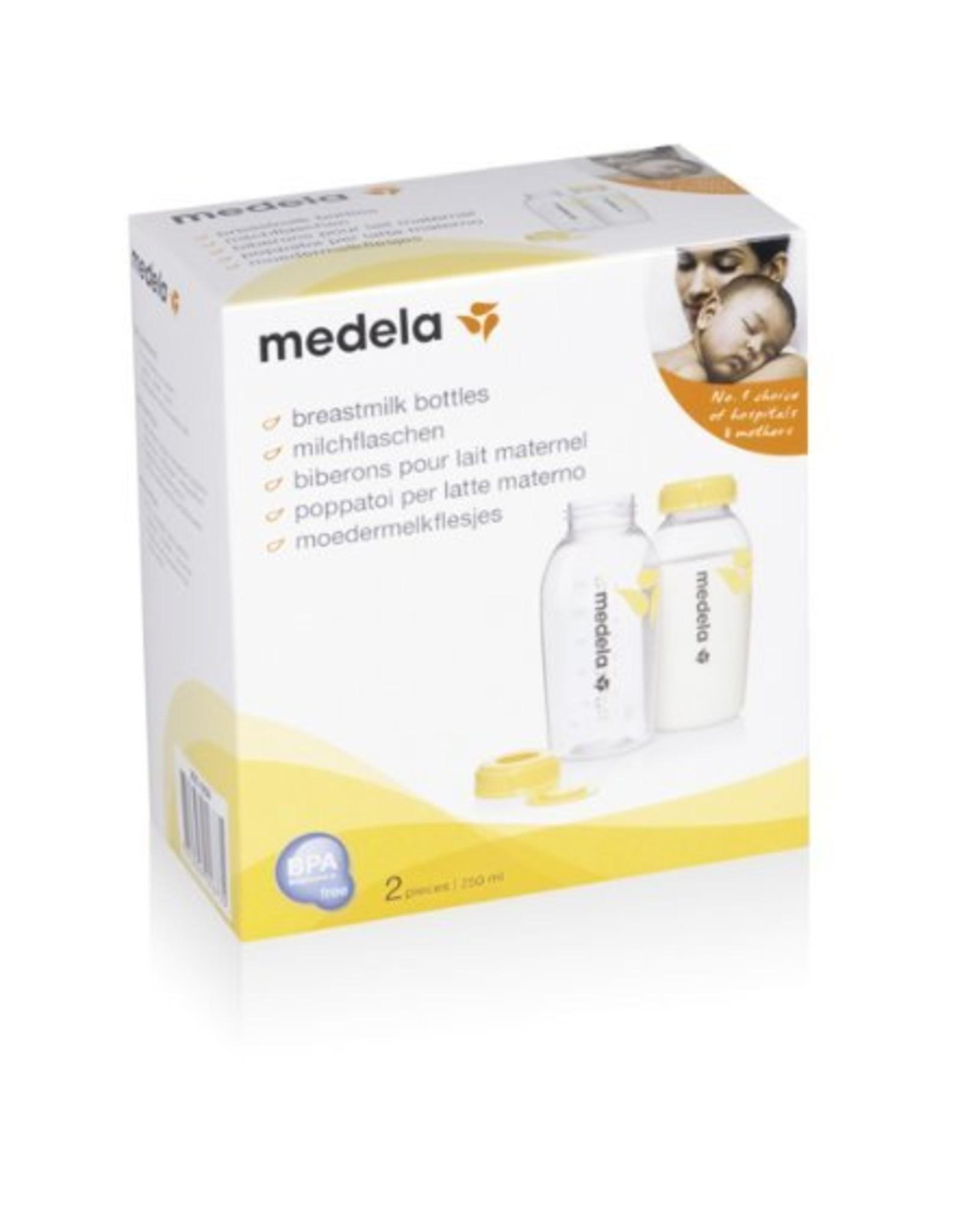 Medela Medela Milchflaschen 250ml, 2er Pack