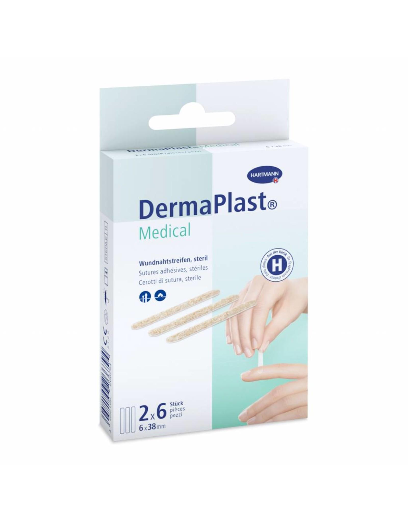DermaPlast DermaPlast Medical Wundnahtstreifen 6 x 38 mm