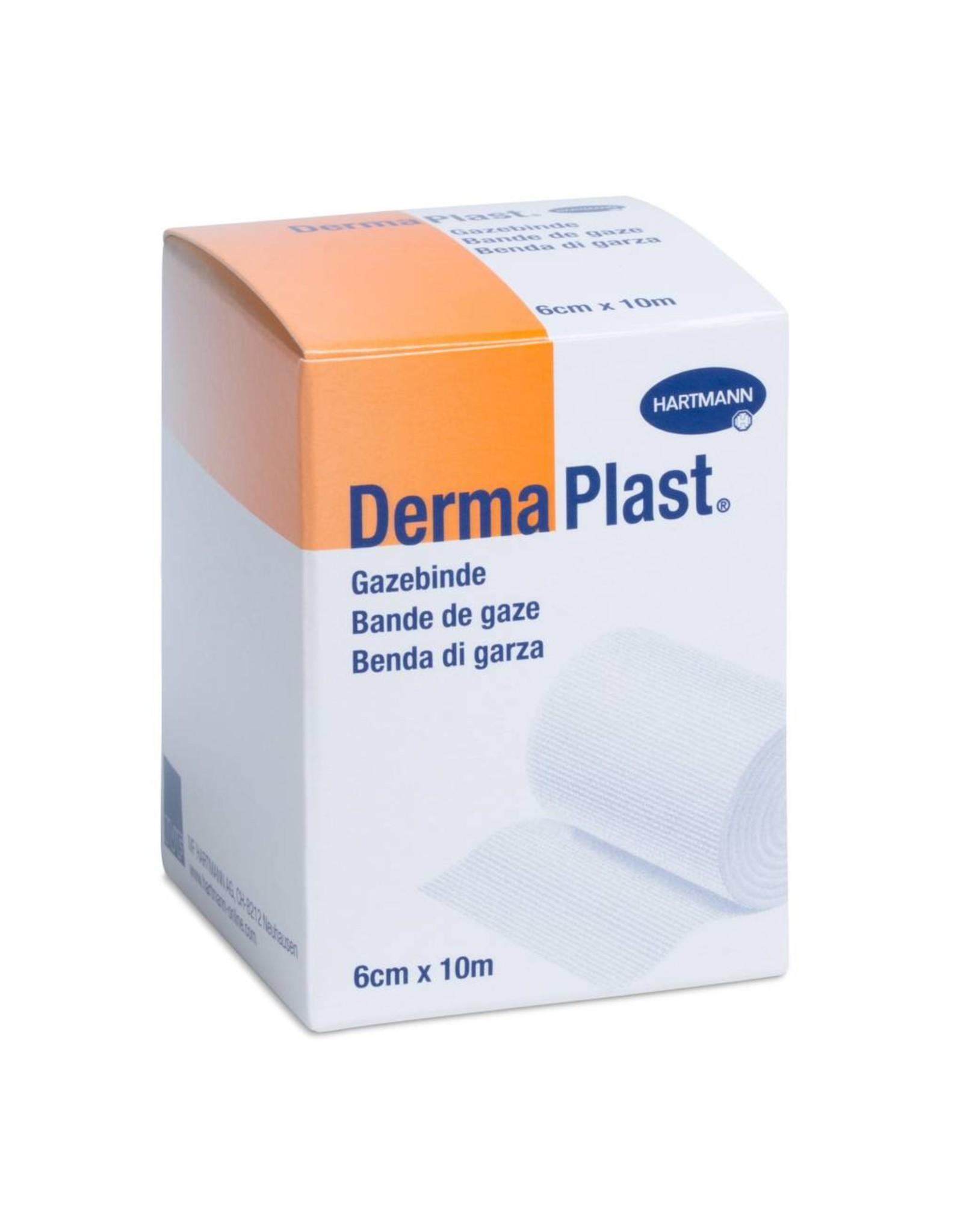 DermaPlast DermaPlast Gazebinde 10 m x 6 cm