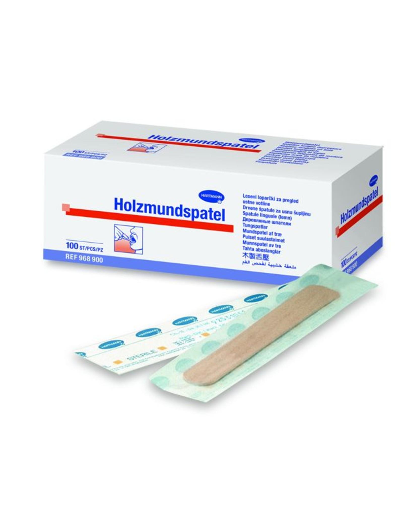 Hartmann Hartmann Holzmundspatel 100 Stk.